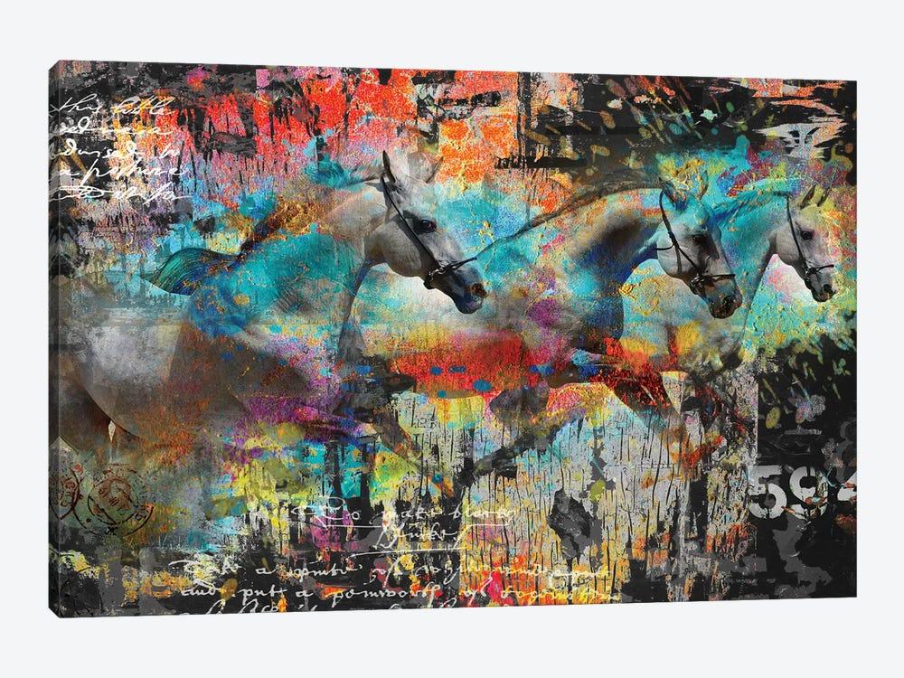 Horses by Micha Baker 1-piece Canvas Artwork