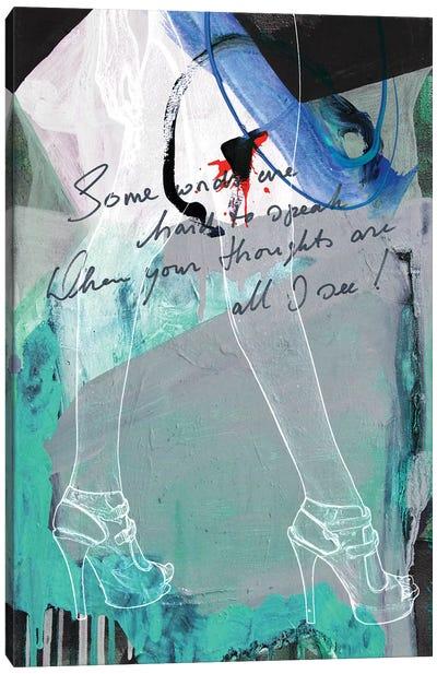 Lady Legs I Canvas Art Print