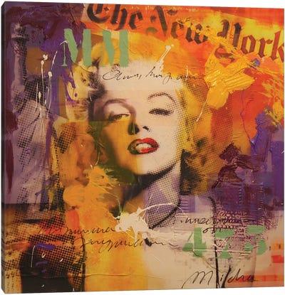 Marilyn III Canvas Art Print