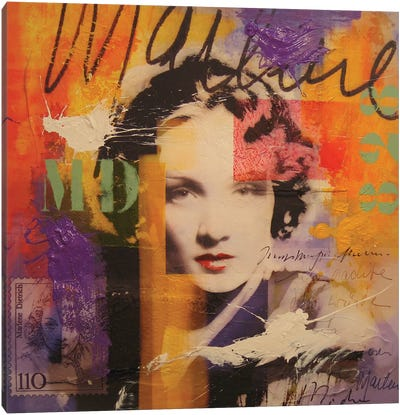 Marlene D. Canvas Art Print