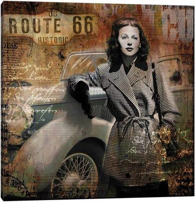 Route 66 Canvas Art Print