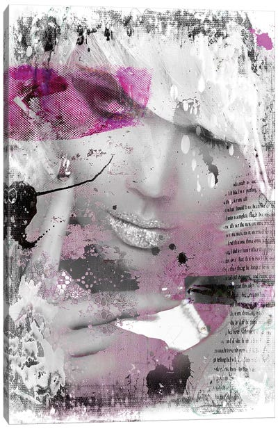 Shyness Canvas Art Print