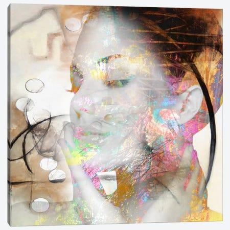 Look At Me Canvas Print #BKR62} by Micha Baker Canvas Wall Art