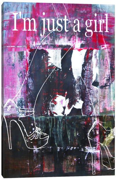 Lady Legs II Canvas Art Print