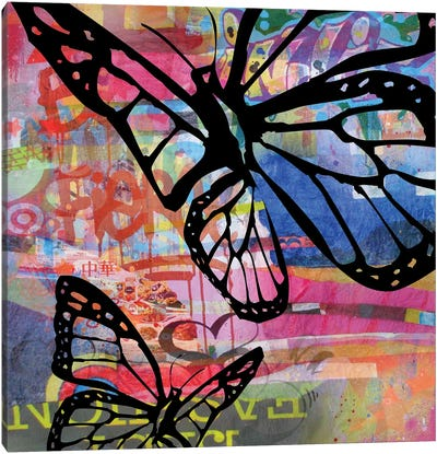 Butterfly I Canvas Art Print