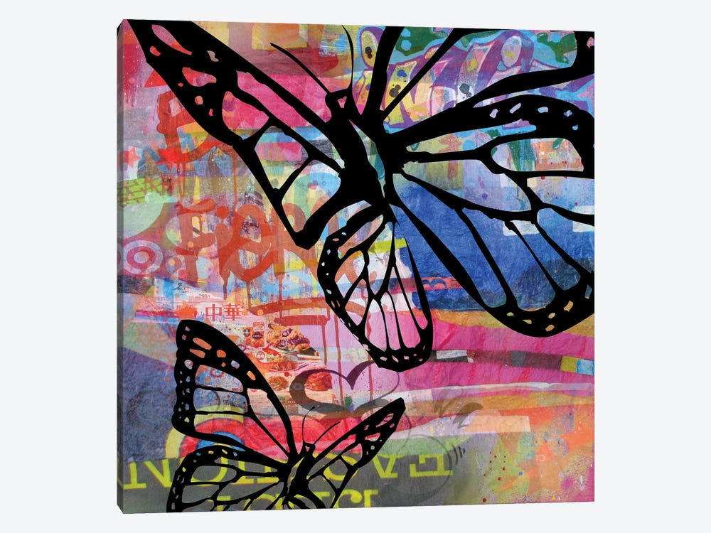Butterfly I by Micha Baker 1-piece Canvas Art Print