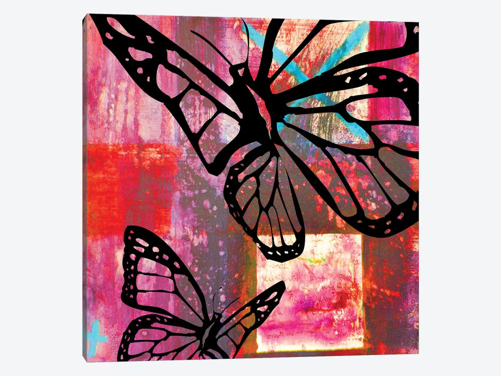 Butterfly II by Micha Baker 1-piece Canvas Wall Art