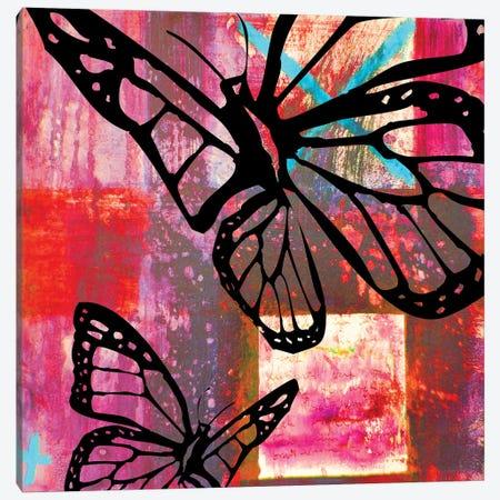 Butterfly II Canvas Print #BKR8} by Micha Baker Canvas Wall Art
