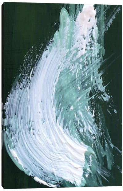 Yew Green Canvas Art Print