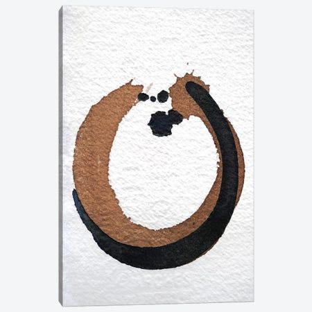 Ink & Walnut Study 3-Piece Canvas #BKS48} by Caroline Banks Canvas Art Print