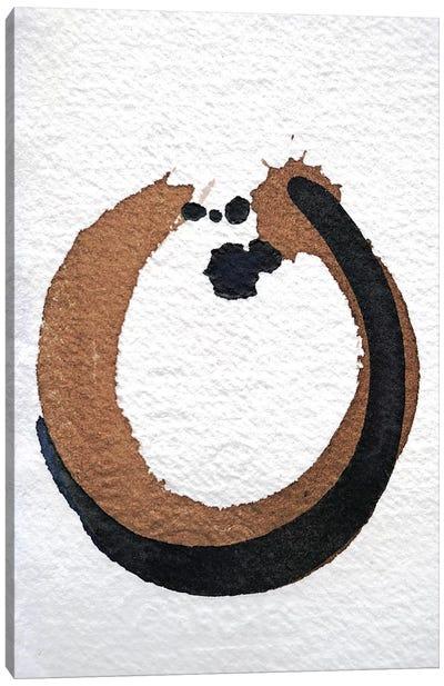Ink & Walnut Study Canvas Art Print