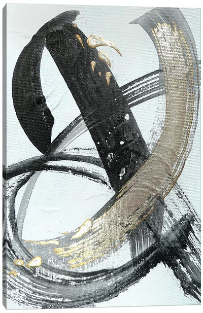 Silver Study I  Canvas Art Print