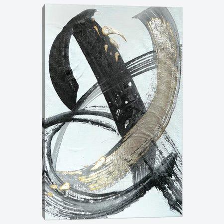 Silver Study I  3-Piece Canvas #BKS49} by Caroline Banks Canvas Art Print