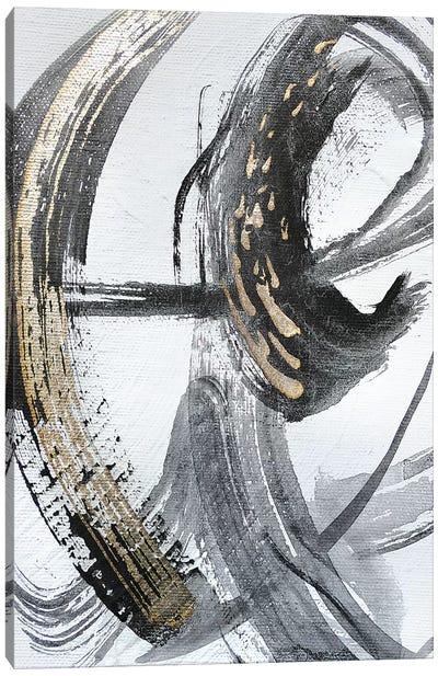 Silver Study II Canvas Art Print