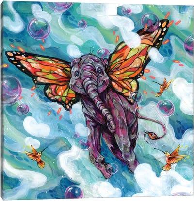 Lollapopaphant Canvas Art Print