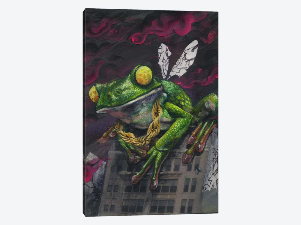 Lord Of The Flies by Black Ink Art 1-piece Canvas Wall Art