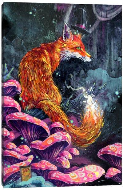 Nice Fox Canvas Art Print