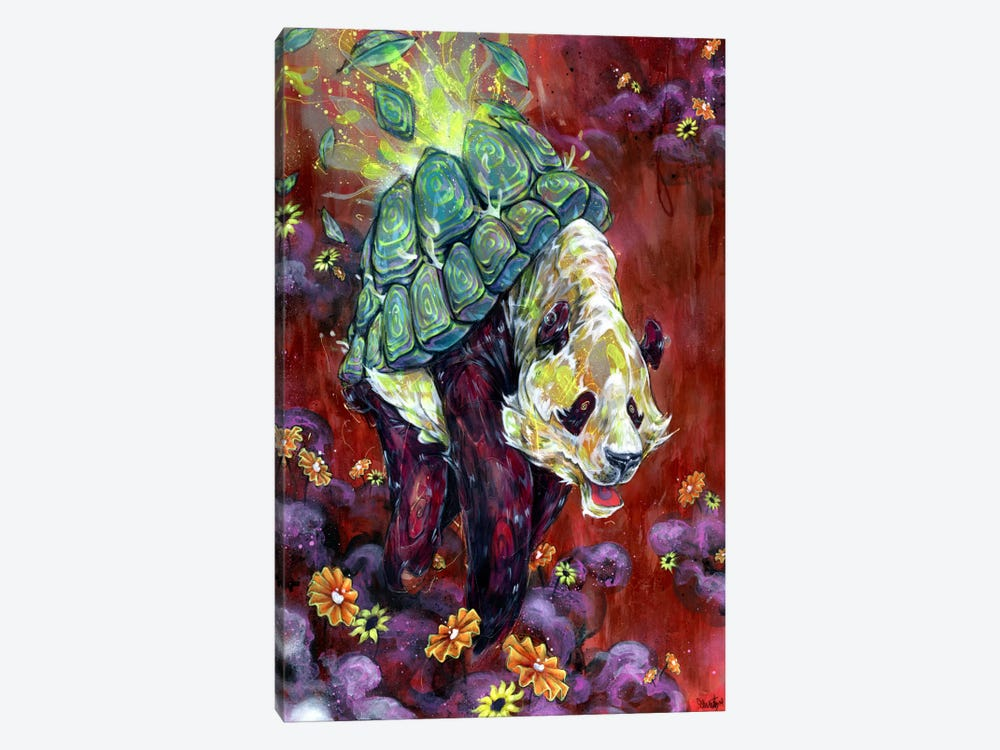 Pandalirium by Black Ink Art 1-piece Canvas Art Print