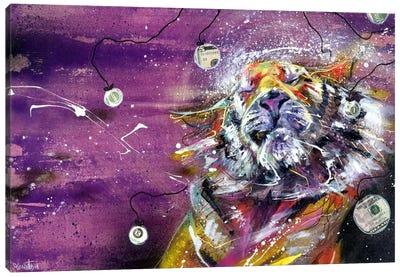 Paperless Tiger Canvas Art Print