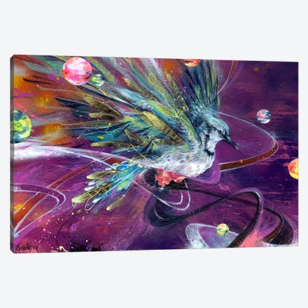 Planetary Allignement Canvas Print #BKT107} by Black Ink Art Canvas Art Print