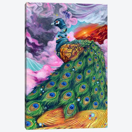 Pretty Pimpin' Canvas Print #BKT108} by Black Ink Art Canvas Artwork
