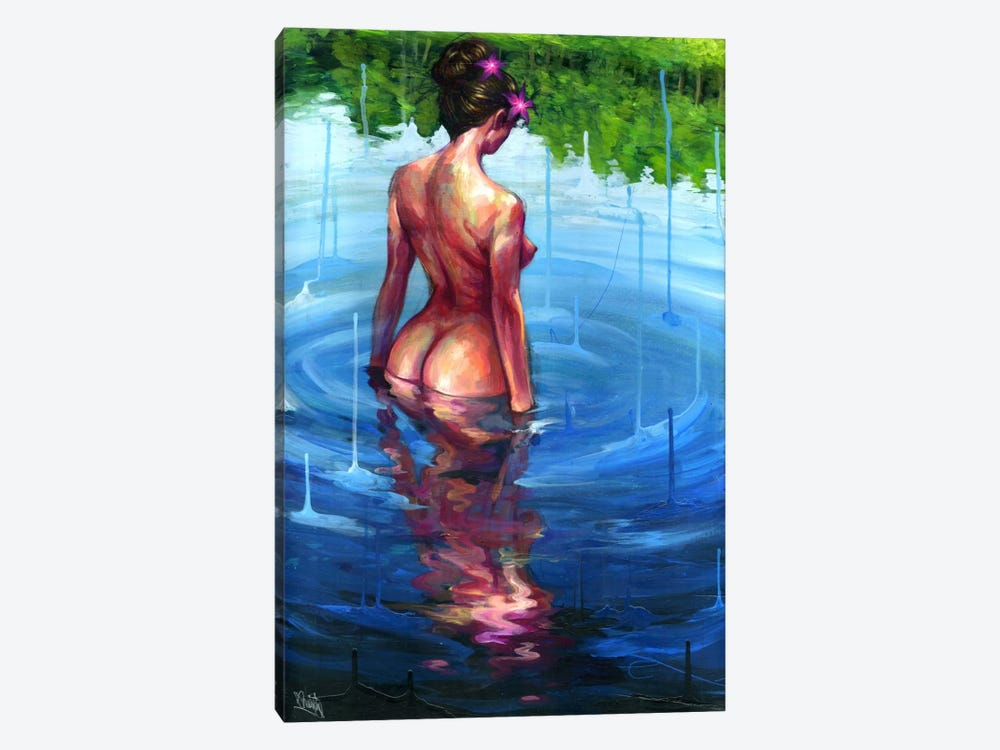 Rising Sky by Black Ink Art 1-piece Canvas Print