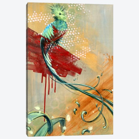 Silent Song Canvas Print #BKT112} by Black Ink Art Art Print