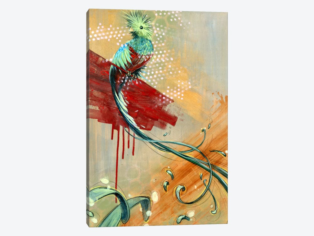 Silent Song by Black Ink Art 1-piece Canvas Art Print