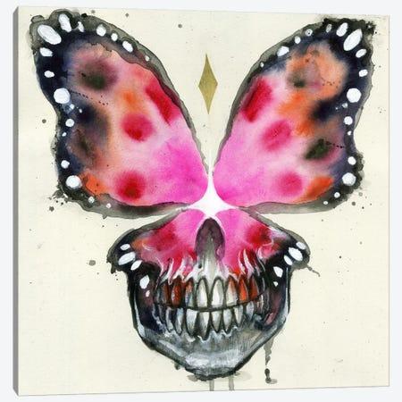 Skullerfly X 3-Piece Canvas #BKT113} by Black Ink Art Canvas Print