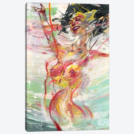 Soundwave Canvas Print #BKT115} by Black Ink Art Canvas Artwork
