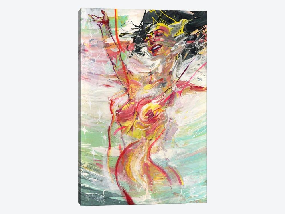 Soundwave by Black Ink Art 1-piece Canvas Artwork