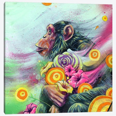 Spring Canvas Print #BKT117} by Black Ink Art Canvas Art