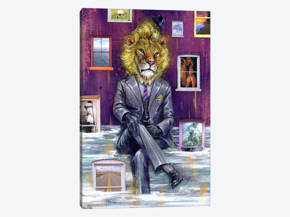Through The Looking Glass by Black Ink Art 1-piece Canvas Wall Art