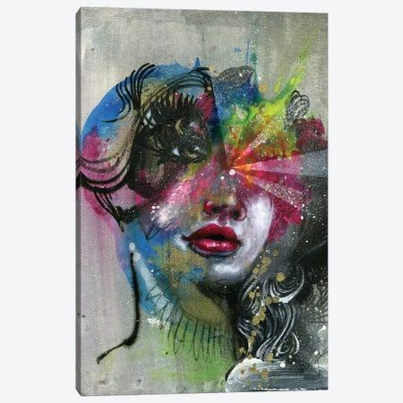 Open Eyes Canvas Print #BKT128} by Black Ink Art Canvas Artwork