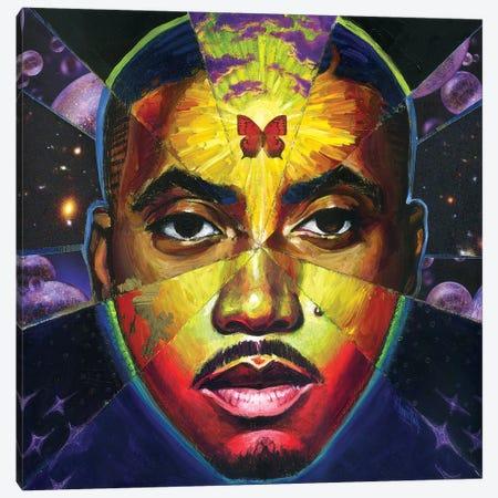 God's Sun 3-Piece Canvas #BKT137} by Black Ink Art Canvas Wall Art