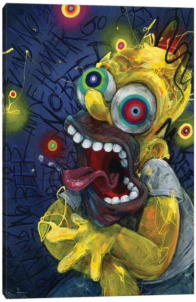 Homer Canvas Art Print
