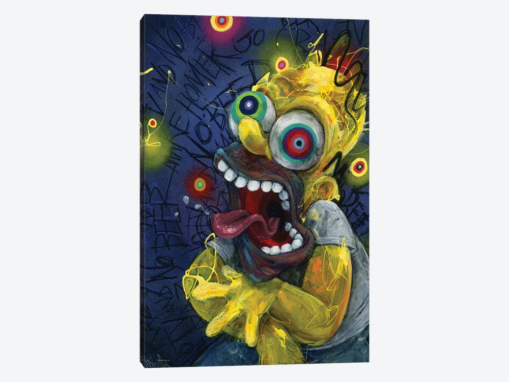 Homer by Black Ink Art 1-piece Canvas Art