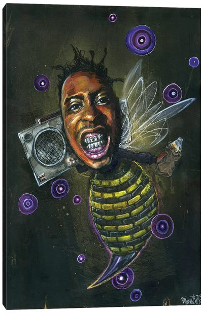 O.D.Bee Canvas Art Print