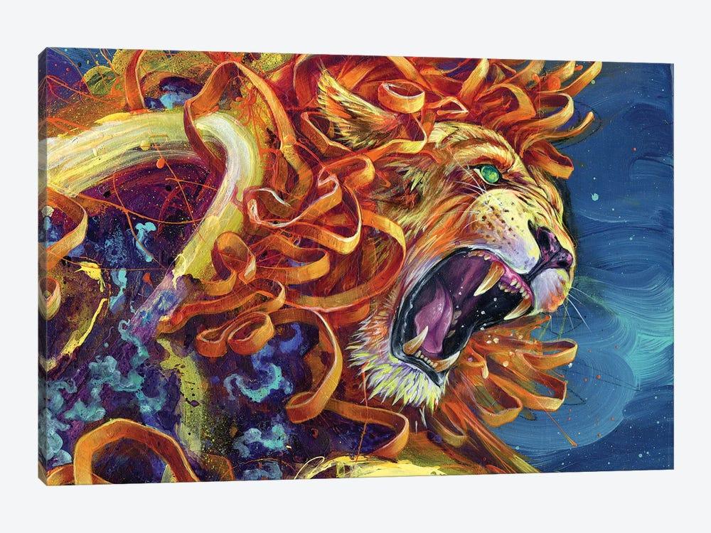 Carnivorous Cadillac by Black Ink Art 1-piece Art Print