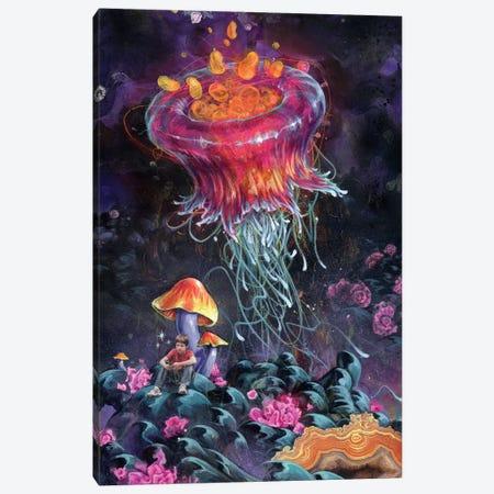 SoundScape Canvas Print #BKT14} by Black Ink Art Canvas Wall Art