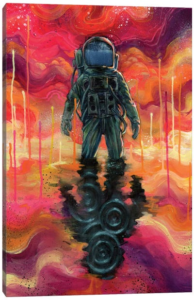 Spaceman Spliff Canvas Art Print
