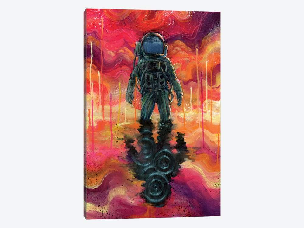 Spaceman Spliff by Black Ink Art 1-piece Canvas Print