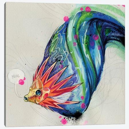 Yum Dum Canvas Print #BKT165} by Black Ink Art Art Print