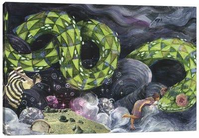 Sparkle Garden Canvas Print #BKT16