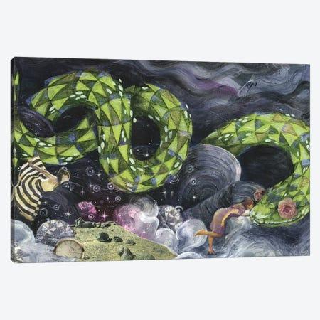 Sparkle Garden 3-Piece Canvas #BKT16} by Black Ink Art Canvas Art