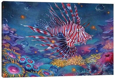 Peppermint Pepitas Canvas Art Print