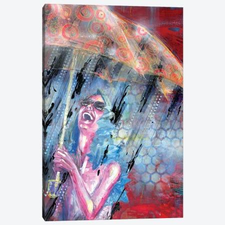 Summer Storm Canvas Print #BKT17} by Black Ink Art Canvas Art