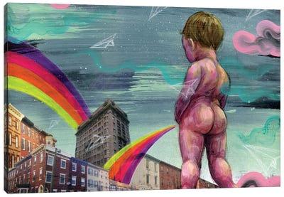 Playground Canvas Art Print