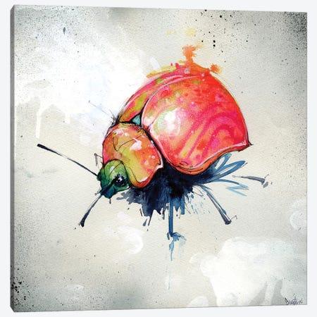Beetle Juice I Canvas Print #BKT32} by Black Ink Art Art Print