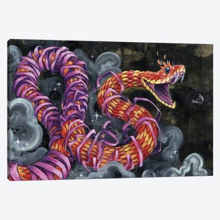 Black Flies Change Colors Canvas Print #BKT35} by Black Ink Art Canvas Artwork